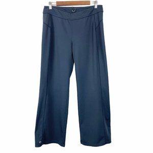 ATHLETA Slate Gray Yoga Wide Leg Pants LP